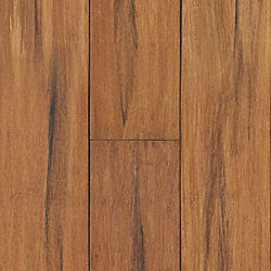 Raleigh Strand Distressed Wide Plank Engineered Click Bamboo Flooring - 35 Year Warranty